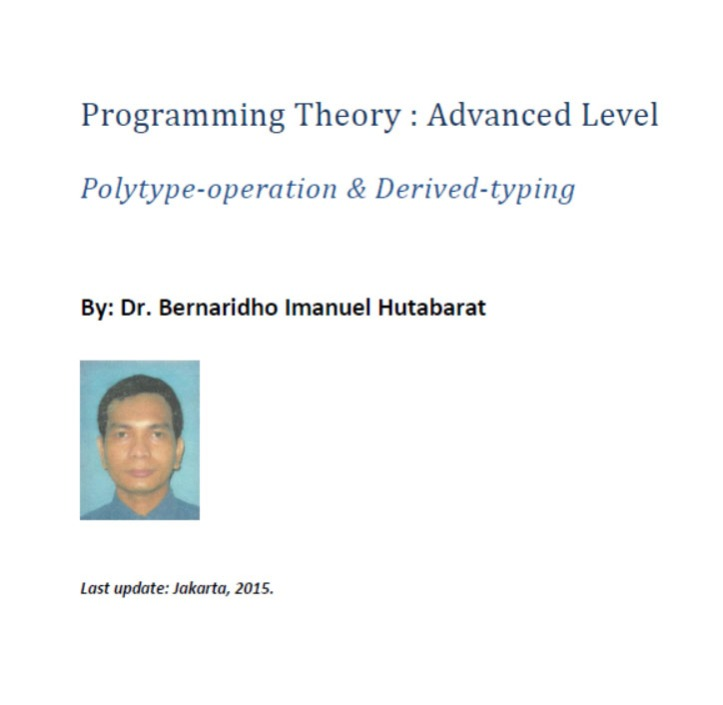 Programming Theory - Advanced